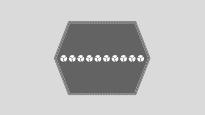 Hexagonal-double straps