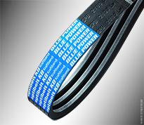 Channel belt with Kevlar