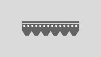 Elastic track belts