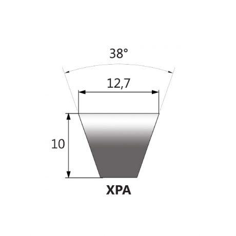 Kevlar internal V-belts
